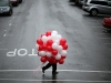 Fotos de San Valentín: hombre con globos
