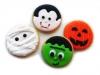 Galletas de Halloween: Caras