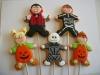 Galletas de Halloween: con palito