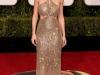 Globos de Oro 2016 alfombra roja: Brie Larson de Calvin Klein