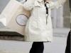 Harper Seven estilo: abrigo gabardina