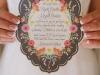 Invitaciones de boda caseras con flores