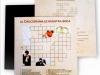 Invitaciones de boda originales y divertidas: crucigrama