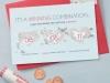 Invitaciones de boda originales y divertidas: boleto de lotería