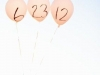 Invitaciones de boda originales y divertidas: foto con globos