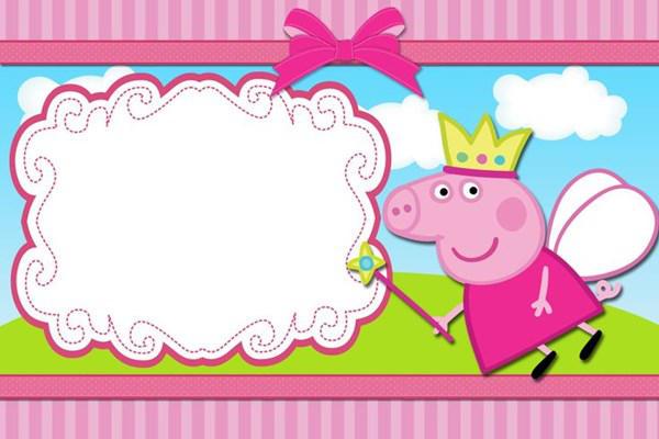 Invitaciones De Cumpleaños De Peppa Pig Para Imprimir Las