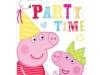 Invitaciones de cumpleaños de Peppa Pig para imprimir: modelo para recortar