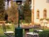 Jardín de invierno decoración: estufa de gas