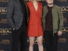 Jennifer Lawrence looks en Madrid premiere 'Sinsajo 2': photocall con Liam Hemsworth y Josh Hutcherson