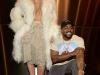 Kim Kardashian rubia platino desfile Kanye West: con su marido