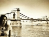 Lara Álvarez biografía: posando en Budapest