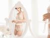 Lencería para novias 2017: body transparencias de Ivette Bridal