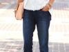 Looks de encaje: top con jeans
