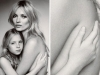 Los photoshop de las famosas más comentados Kate Moss