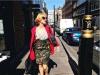 Maggie Civantos biografía: Instagram posando en Londres