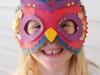 Manualidades para niños en papel: máscara de búho