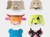 Manualidades para niños en papel: máscaras de animales
