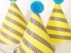 Manualidades para niños en papel: sombreros de fiesta