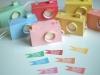 Manualidades para niños en papel: cámaras de fotos