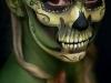 Maquillaje de calavera para Halloween: colores