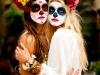 Maquillaje de Catrina para Halloween: blancas