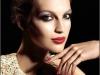 Maquillaje de fiesta: Chanel labios rojos