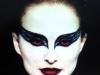Maquillaje de Halloween de películas de animación: Cisne Negro