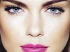 Maquillaje en tonos rosas: labios fuertes
