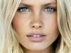 Maquillaje en tonos rosas: labios y mejillas