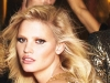 Maquillaje metalizado para fiestas: ojos dorados