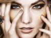 Maquillaje metalizado para fiestas: ojos y labios dorados