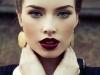 Maquillaje Nochevieja 2015: Look beauty con labios granates