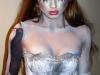 Maquillaje novia cadáver para Halloween: Adriana Lima