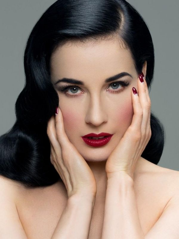 Maquillaje pin up para morenas trucos perfectos fotos - Maquillage pin up ...