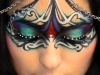 Maquillajes de Carnaval de Fantasía: máscara de colores