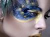 Maquillajes de Carnaval de Fantasía: pavo real