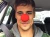 Martiño Rivas biografía: Instagram selfie con nariz roja