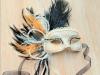 Máscaras de Carnaval caseras: de encaje y plumas