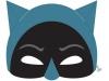 Máscaras de Halloween caseras: Batman