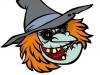 Máscaras de Halloween caseras: Bruja