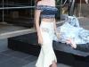 Miranda Kerr presentación estrella Swarovski en Nueva York: posando con labios rojos