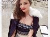 Miranda Kerr presentación estrella Swarovski en Nueva York: posando
