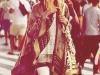 Moda Años 70 Estilo Hippie Chic: poncho