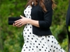 Vestidos de fiesta premamá: look Kate Middleton