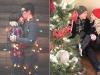 Fotos románticas en Navidad en pareja