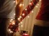 Navidad en pareja: manos y luces