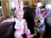 Niños y mascotas: Conejitos