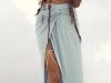 Pareos de playa estilo falda larga con top