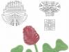 Patrones de ganchillo para principiantes: esquema rosas
