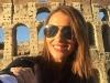 Paula Echevarría vacaciones en Roma: Coliseo